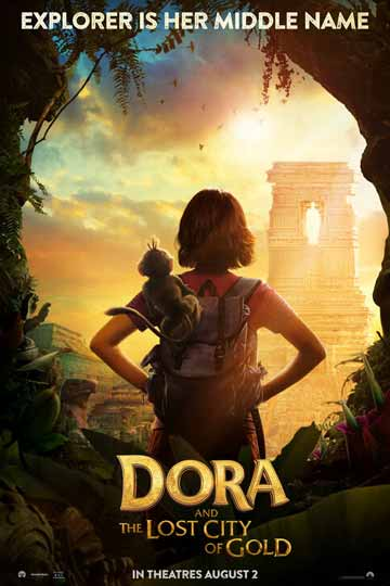 DORA AND THE LOST CITY OF GOLD (PG) Movie Poster