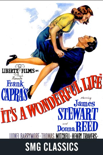 $5 IT'S A WONDERFUL LIFE (PG) Movie Poster