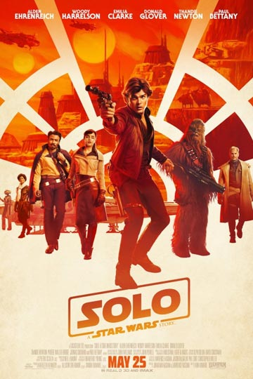 SOLO: A STAR WARS STORY (PG-13) Movie Poster