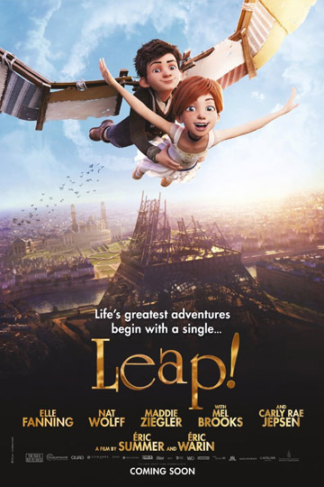 LEAP (PG) Movie Poster